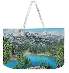 Mount Baker Wilderness Weekender Tote Bag