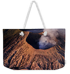Weekender Tote Bag featuring the photograph Mount Bromo At Sunrise by Pradeep Raja Prints