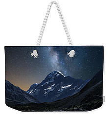 Mount Cook At Night Weekender Tote Bag