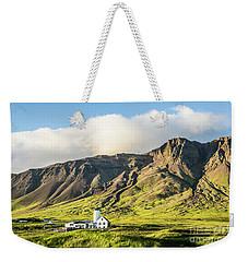 Mount Esjan Is Iceland Weekender Tote Bag