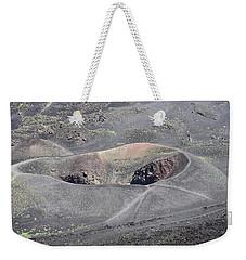 Mount Etna Caldera Weekender Tote Bag