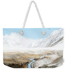 Weekender Tote Bag featuring the photograph Mount Everest  by Setsiri Silapasuwanchai