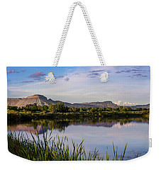 Mount Garfield In The Evening Light Weekender Tote Bag