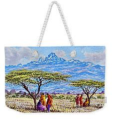 Mount Kenya 2 Weekender Tote Bag