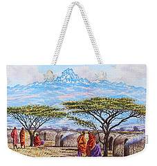 Mount Kenya 3 Weekender Tote Bag