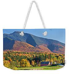 Mount Mansfield Autumn View Weekender Tote Bag
