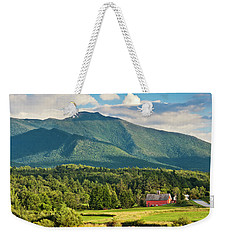 Mount Mansfield Summer View Weekender Tote Bag