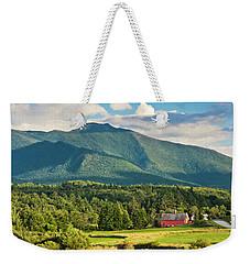Mount Mansfield Summer View Weekender Tote Bag