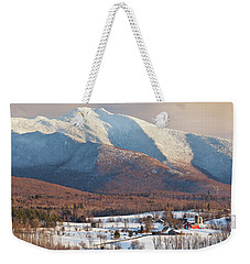 Mount Mansfield Winter Afternoon Weekender Tote Bag