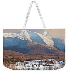 Mount Mansfield Winter Afternoon Weekender Tote Bag