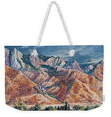 Mount Olympus In Autumn  Weekender Tote Bag