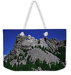Weekender Tote Bag featuring the photograph Mount Rushmore 001 by George Bostian