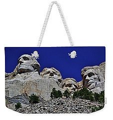 Weekender Tote Bag featuring the photograph Mount Rushmore 007 by George Bostian