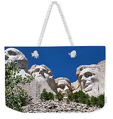 Mount Rushmore Close Up View Weekender Tote Bag