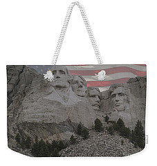 Mount Rushmore Weekender Tote Bag by Juli Scalzi