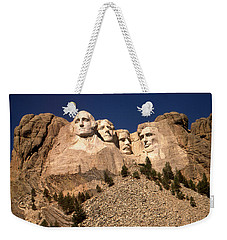 Mount Rushmore National Monument South Dakota Weekender Tote Bag