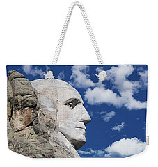 Mount Rushmore Profile Of George Washington Weekender Tote Bag