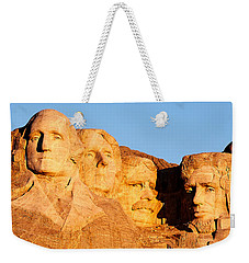 Mount Rushmore Weekender Tote Bag by Todd Klassy
