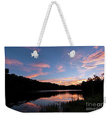 Mount Saint Francis Sunset - D010121 Weekender Tote Bag by Daniel Dempster