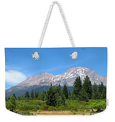 Weekender Tote Bag featuring the photograph Mount Shasta Ca 07 15 07 by Joyce Dickens