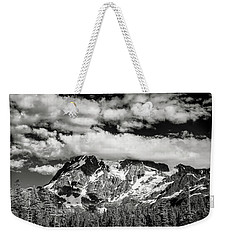 Weekender Tote Bag featuring the photograph Mount Shuksan Under Clouds by Jon Glaser