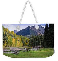 Mount Sneffels In Autumnn Weekender Tote Bag