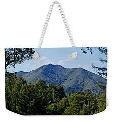 Mount Tamalpais Weekender Tote Bag
