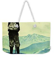 Mount Tate 1930 Japanese Poster Weekender Tote Bag