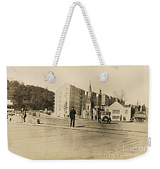 Weekender Tote Bag featuring the photograph Mount Washington Church  by Cole Thompson