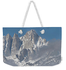 Mount Whitney In March Weekender Tote Bag
