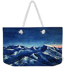 Mountain-4 Weekender Tote Bag