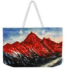 Mountain-7 Weekender Tote Bag