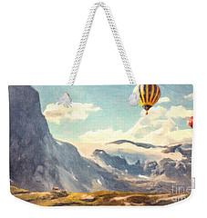 Mountain Air Balloons Weekender Tote Bag