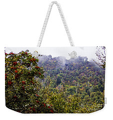 Mountain Ash On A Misty Mountain Weekender Tote Bag
