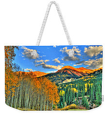 Mountain Beauty Of Fall Weekender Tote Bag by Scott Mahon