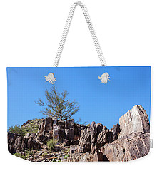 Weekender Tote Bag featuring the photograph Mountain Bush by Ed Cilley