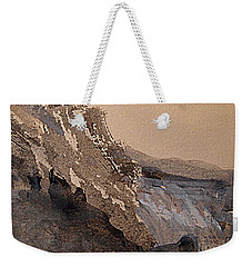 Mountain Cliff Weekender Tote Bag by Nancy Kane Chapman