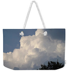 Weekender Tote Bag featuring the photograph Mountain Clouds 6 by Don Koester