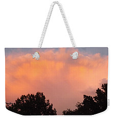Weekender Tote Bag featuring the photograph Mountain Clouds 7 by Don Koester