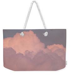 Weekender Tote Bag featuring the photograph Mountain Clouds 8 by Don Koester