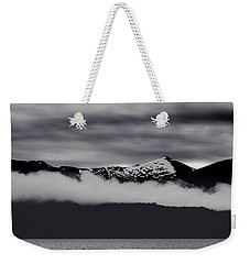 Mountain Contrast Weekender Tote Bag