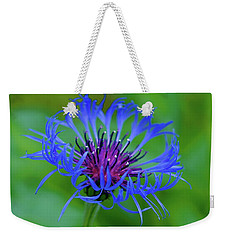 Mountain Cornflower Weekender Tote Bag