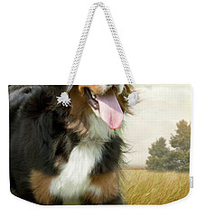Mountain Dog Weekender Tote Bag