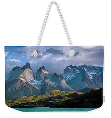 Weekender Tote Bag featuring the photograph Mountain Dream by Andrew Matwijec