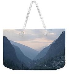 Mountain Escapapde 2 Weekender Tote Bag