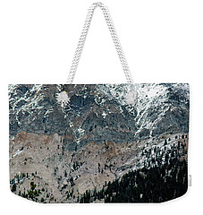 Mountain Face Weekender Tote Bag