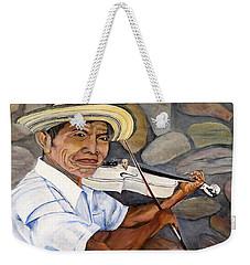 Mountain Fiddler Weekender Tote Bag by Marilyn McNish