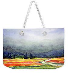 Mountain Flowers Valley Weekender Tote Bag