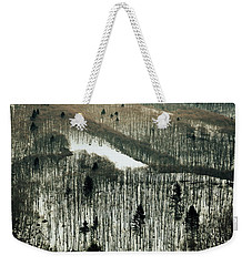 Mountain Forest Weekender Tote Bag