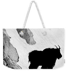 Mountain Goat Shadow Weekender Tote Bag